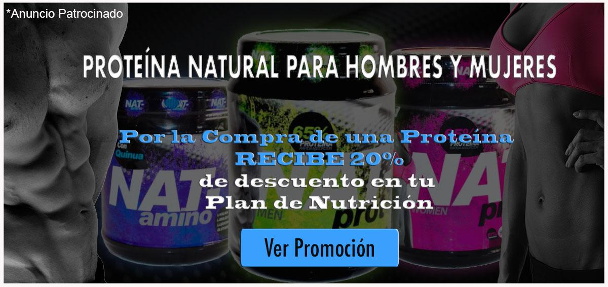 descuento proteina natural